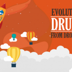 Evolution of Drupal From Drop To Top [Infographic]