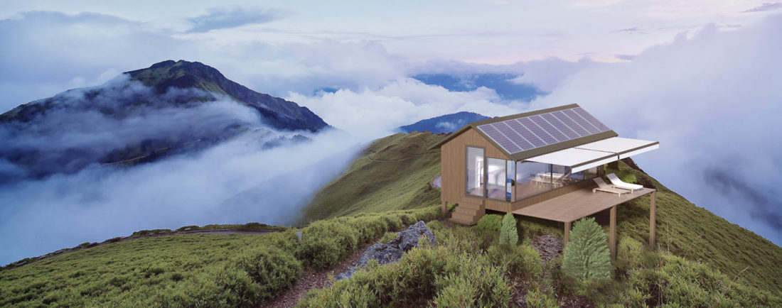 A Robot Can 3D-Print This Autonomous Mobile House in Just 8 Hours