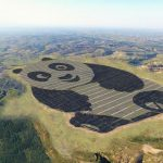 China Just Built the World's Cutest Solar Plant Which is Shaped Like a Panda