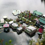 "Canadian Couple Creates ""Freedom Cove"" Floating Compound"