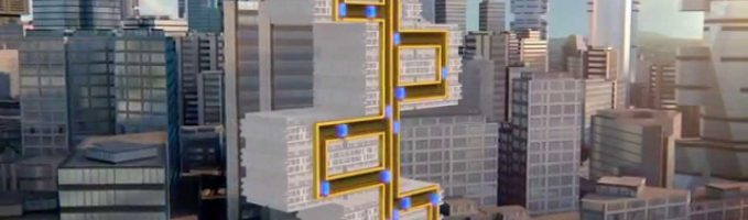World's First Ropeless Elevator Can Move Up, Down, and Sideways