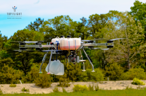 Hybrid Drone Delivers Power, Distance