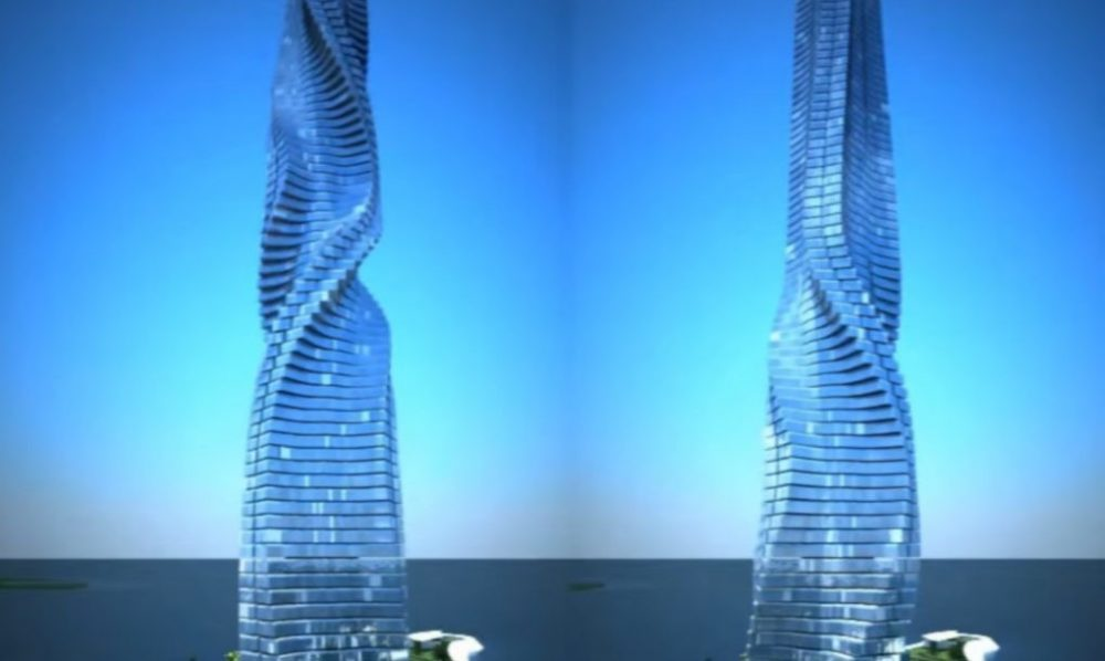 World's First Shape-Shifting Skyscraper Allows Residents to Rotate Their Apartments 360 Degrees