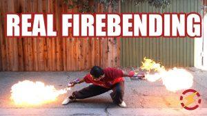 Custom-Built Flamethrower Gloves Look Like Something From a Video Game
