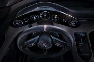Porsche Mission E cabin