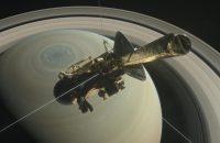 Cassini probe.