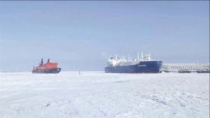 Global Warming Effects: Arctic Crossing Without Icebreaker