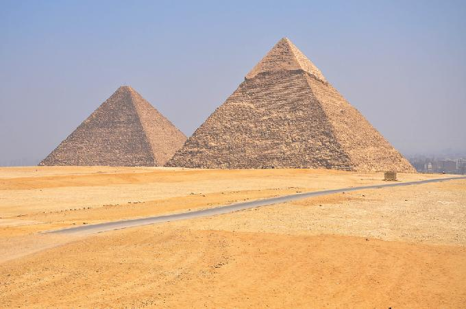 Ancient Egyptian pyramid