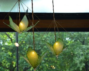 Amazing Living Chandelier Made With Algae Purifies Air