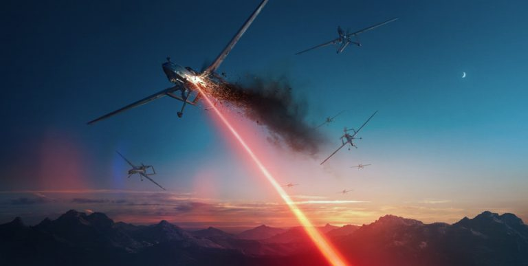 ATHENA laser weapon system