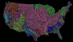 High-Resolution Map Shows Rivers Spreading Like Veins Across U.S.