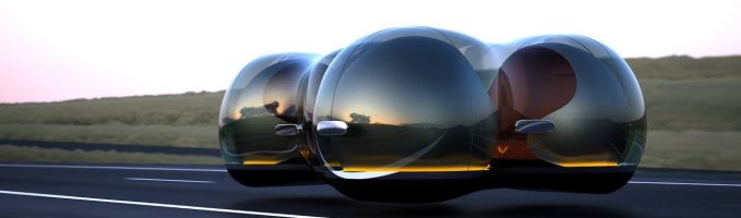 """Renault's """"Car Of The Future""""- The Float"""
