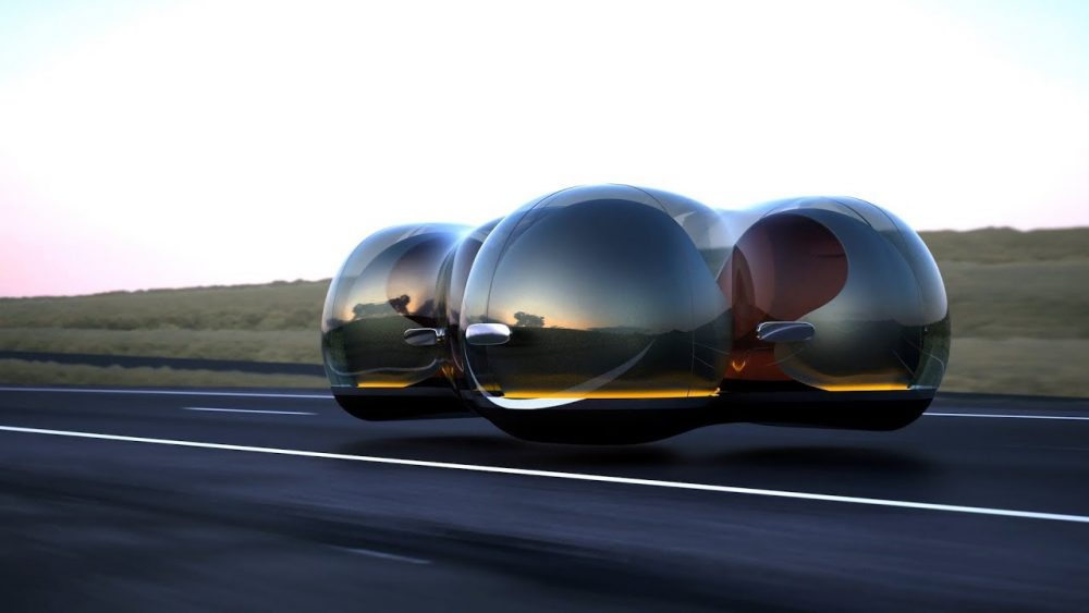 "Future Of The Car: Renault's ""Car Of The Future""- The Float"