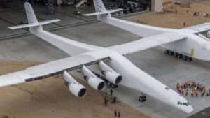 World's Largest Airplane Gets Ready for Maiden Flight