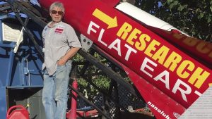 Flat Earth? Self-Taught Rocket Scientist Plans to Prove It