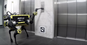 ANYmal Robot Knows How to Take the Elevator