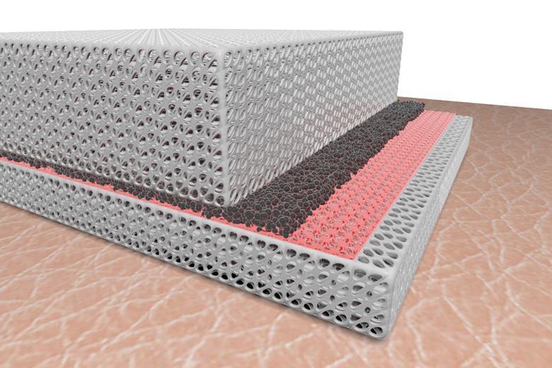 Reversible Material Helps Regulate Heat