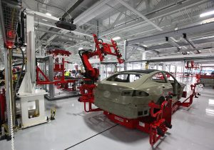 Tesla Buys Machining Firm to Help With Manufacturing