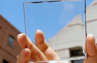 Transparent solar cells