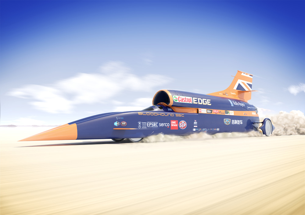Bloodhound Super Sonic Car Heads to Kalahari in 2018