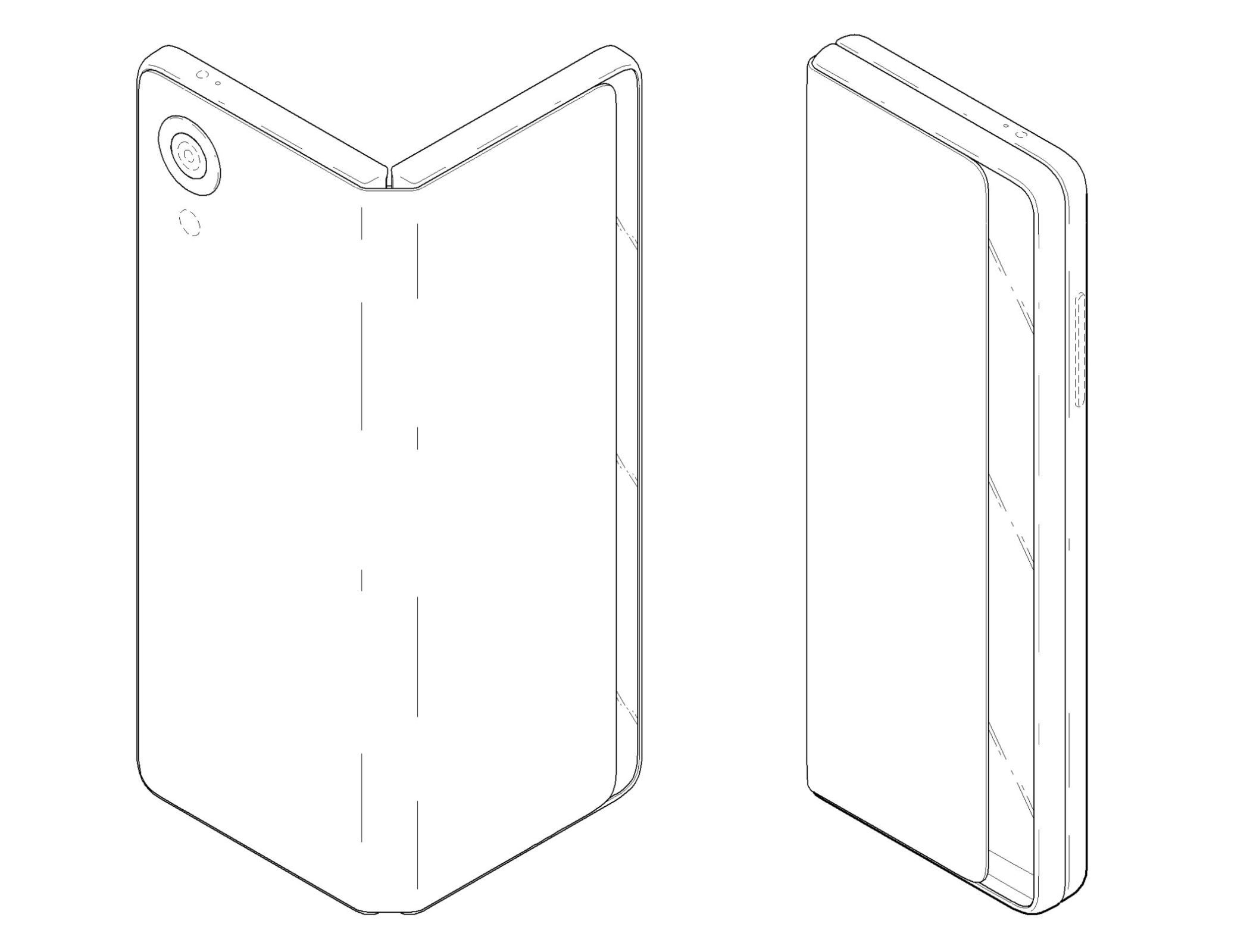 LG Patent: Tablet that Folds Down into a Phone