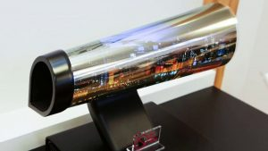 LG's 65-In. OLED TV Can Be Rolled Up Like Paper