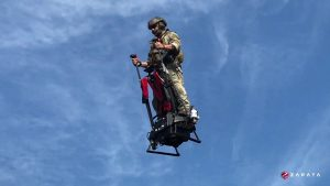 Zapata Ezfly: The Aerial Segway Anyone Can Fly