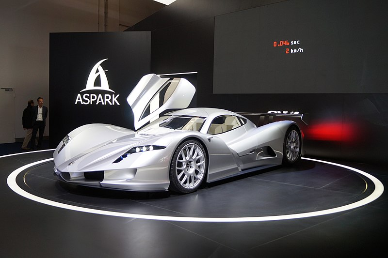 Japan's Street-Legal Hypercar Went 0-60 in 1.9 Seconds
