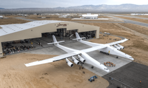 World's Biggest Airplane, Stratolaunch, Taxiing at 46 MPH