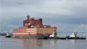 Russia Launches World's First Floating Nuclear Power Plant