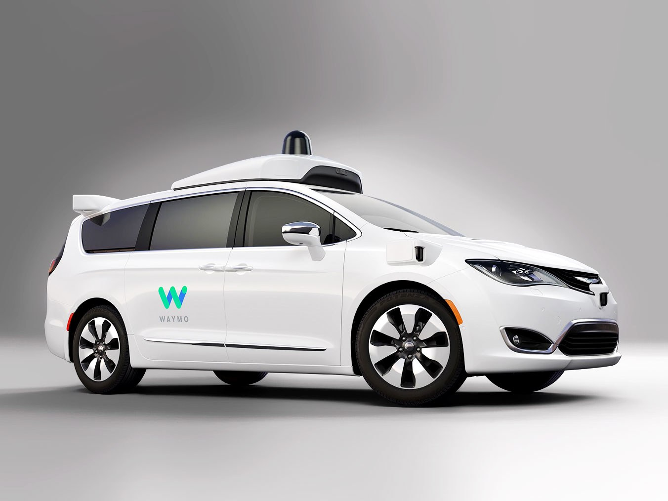 Waymo Autonomous Minivan