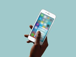 Apple Hints 3D Touch for iPhones Might Be on the Way Out