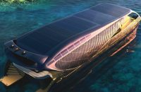 Solar-Powered Yacht