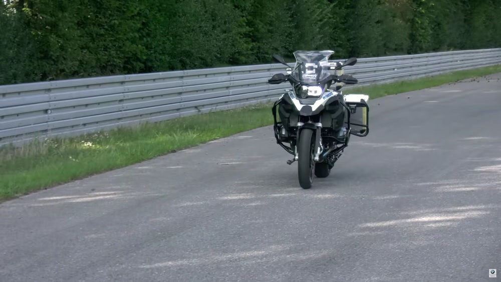 BMW Unveils Its Riderless Motorcycle