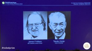 Groundbreaking Cancer Research wins the 2018 Nobel Prize in Medicine