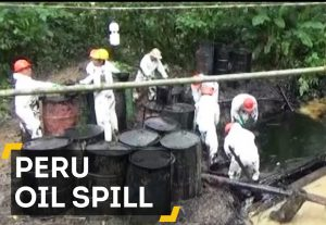 8,000 Barrels of Oil Spill in to Peru's Amazon