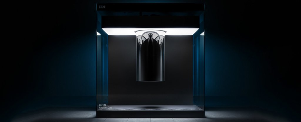 IBM Q System One, the world's first fully integrated universal quantum computing system