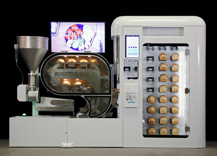 The BreadBot from Wilkinson Baking Company