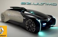 Renault's EZ-ULTIMO Is a Self Driving Luxurious Lounge on the Wheels