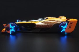 McLaren's F1 Car is All-Electric and Shape-Shifting Achieves 300 mph