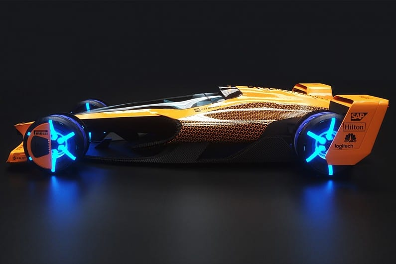 McLaren Applied Technologies car concept