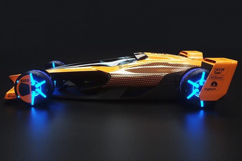 McLaren Applied Technologies car concept