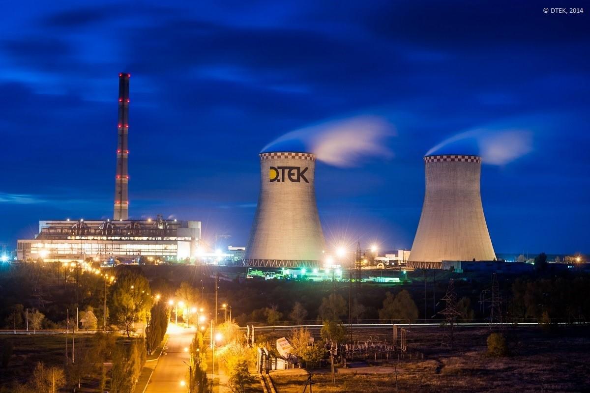 DTEK power plant
