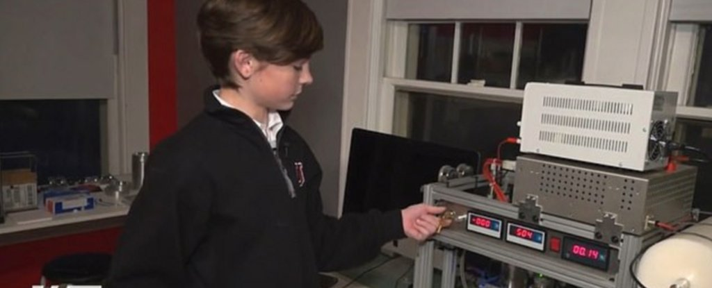12-Year-Old Boy Reportedly Builds a Nuclear Fusion Reactor in a Playroom Lab