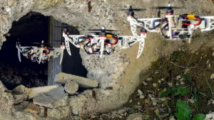 Self-Foldable Drones to Assist on Rescue Missions