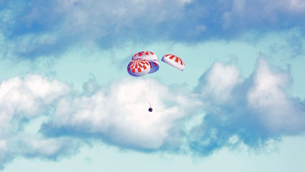 Splashdown! SpaceX's Dragon Capsule Makes Historic Landing In The Atlantic Ocean