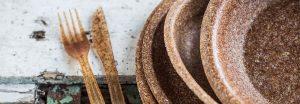 You Can Eat This Biodegradable Tableware Made From Wheat Bran