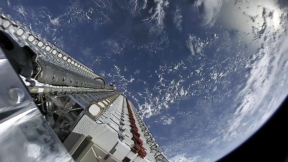 SpaceX Launched 60 Starlink High-Speed Internet Satellites