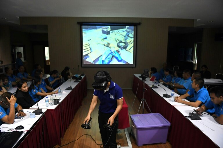 VR GAME TRAINS LAW ENFORCEMENT ON DISASTER MANAGEMENT