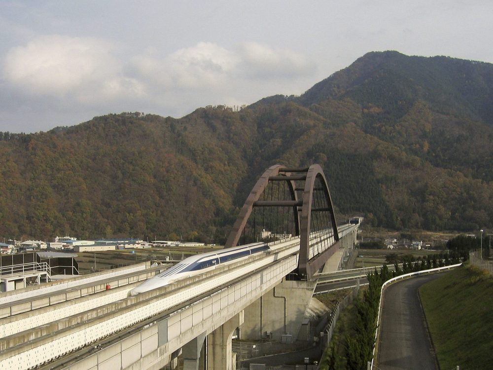 World's Fastest Bullet Train with Record-Breaking Speed of 249 Mph Starts Test Run In Japan